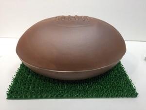 ラグビーボール型骨壷