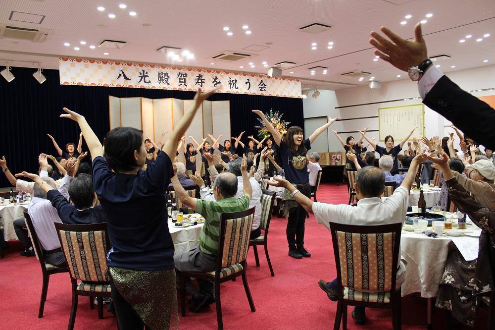 賀寿を祝う会開催模様